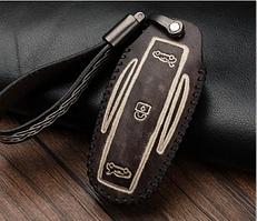 Шкіряний чохол Motowey для смарт-ключа Tesla Model X