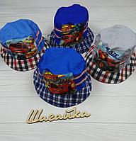 Кепка панамка на мальчика детская р. 48-50 разные цвета