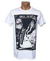 Мужская белая футболка Highlander - №5313
