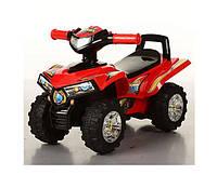 Каталка-толокар Bambi HZ 551-3 детский квадроцикл музыка Красный (int_HZ 551-3)