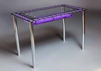 """Обеденный стол из стекла """"Флоренция"""""""
