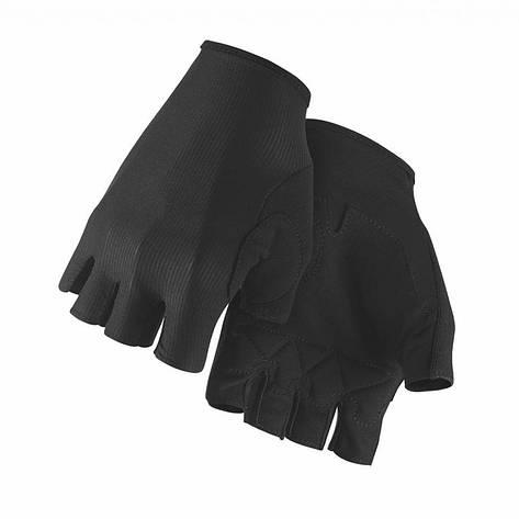 Рукавички ASSOS літо equipeRSGloves чорний L, фото 2