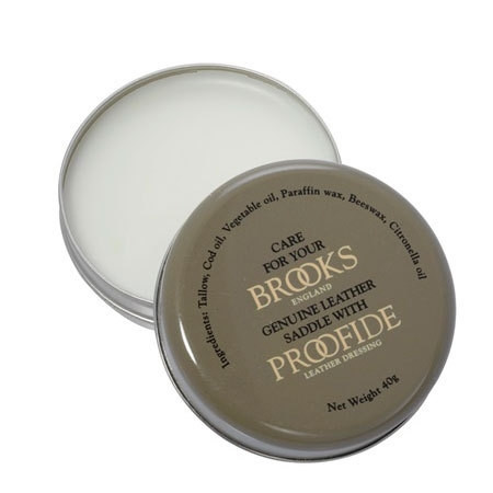 Засіб для догляду за шкіряними сидіннями Brooks Proofide, 40г