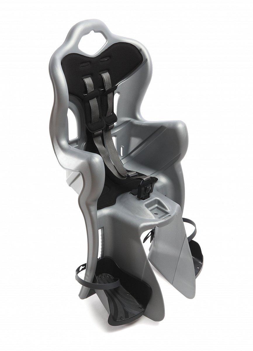 Сидіння дитяче Bellelli B-One Standard Multifix на раму сріблястий