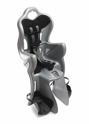 Сидіння дитяче Bellelli B-One Standard Multifix на раму сріблястий, фото 2