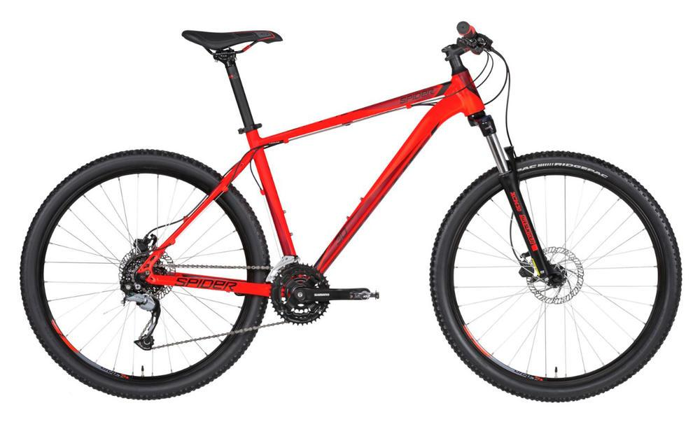 Велосипед Kellys 2019 Spider 30 (27.5˝) Red S (16.5˝)