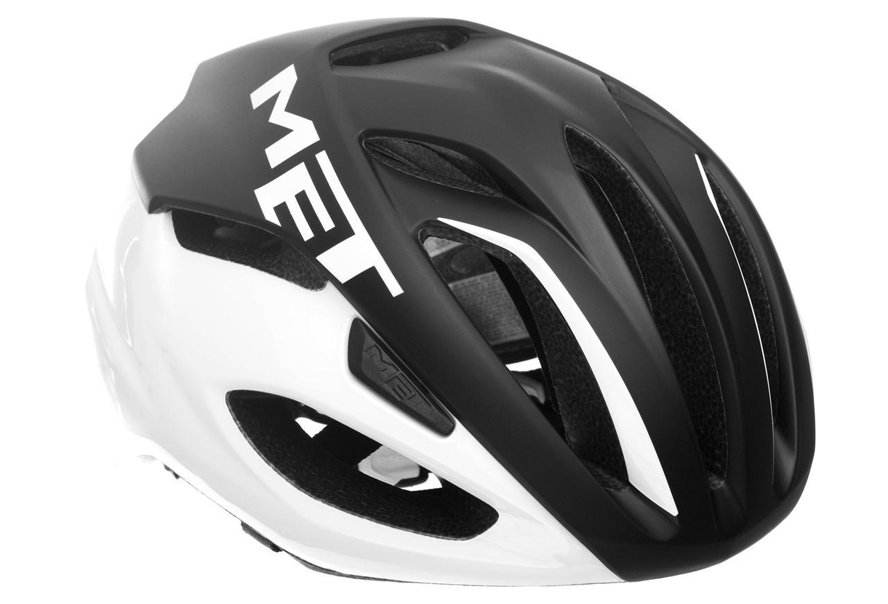 Шолом MET Rivale M Black/white 54-58