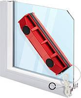 Магнитная щетка для мытья окон с двух сторон Glider