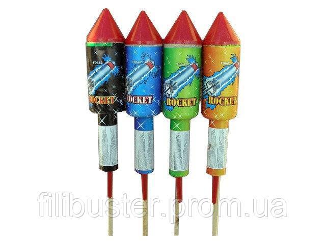 Ракеты и другая пиротехника в Украине от магазина Флибустьер