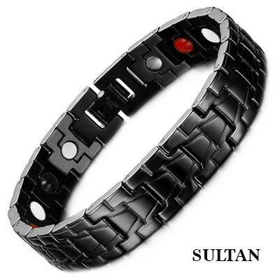 Магнитный браслет Султан black