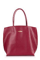 Кожаная сумка POOLPARTY pearl-red, фото 1