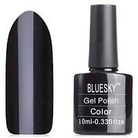 Гель-лак Bluesky 10 мл №002 (черный эмаль)