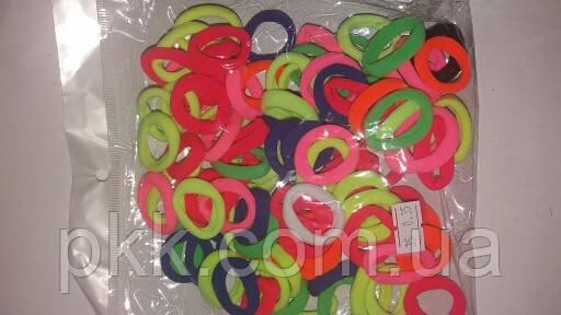 Резинка для волос Калуш маленькая цветная (100шт) R-20-100G