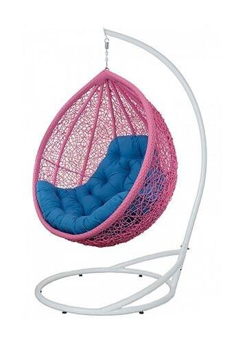 """Красивое подвесное кресло """"Веста"""" в розовом цвете"""