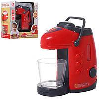 Кофеварка детская игрушечная 11см, льется вода, фото 1