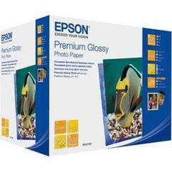 Фотобумага EPSON Premium Glossy Photo Paper, глянцевая 250g/m2, 130х180 мм, 500л (C13S042199)