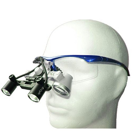 Бинокулярный увеличитель ECMG-2,5x-LD с осветителем D-Light Duo