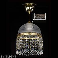 Подвесной светильник CASSANDRA CASSANDRA I CE brass antiq Artglass