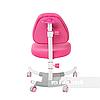 Комплект подростковая парта Amare Pink с выдвижным ящиком + подростковое кресло для дома Ottimo Pink FunDesk, фото 2