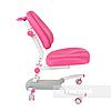 Комплект подростковая парта Amare Pink с выдвижным ящиком + подростковое кресло для дома Ottimo Pink FunDesk, фото 3