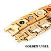 Магнитный браслет Золотой Ангел, фото 2