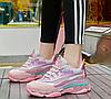 Женские летние кроссовки  розового цвета, фото 4