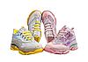 Женские розовые кроссовки на силиконовой подошве с голографическими вставками 37,38,39 (маломиркы), фото 8