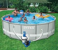 Каркасный бассейн Intex 28324 (54924) 488x122 cм.