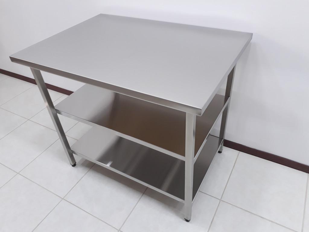 Столы производственные разделочные, рабочие поверхности 2
