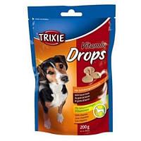 Trixie Витамины для собак Drops  200 г бекон