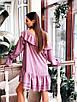 Стильное платье с воланами в разных расцветках, фото 7