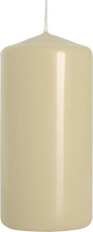 Свеча цилиндр кремовая Bispol 10 см (sw50/100-011)
