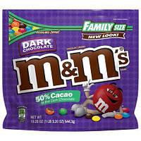 Конфеты M&M's Dark Chocolate 544,3 g