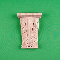 Код КР15. Резной деревянный декор для мебели. Кронштейн резной