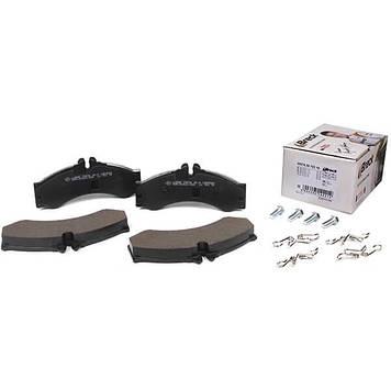 Тормозные колодки Mersedes 29076 20,00 Mercedes 408D, 412D, 414 Sprinter, Volkswagen LT46