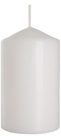 Свеча цилиндр белая Bispol 10 см (sw60/100-090)