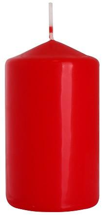 Свеча цилиндр красная Bispol 10 см (sw60/100-030)
