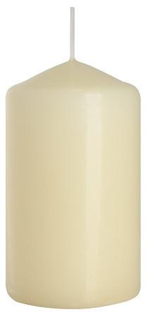 Свеча цилиндр кремовая Bispol 10 см (sw60/100-011)