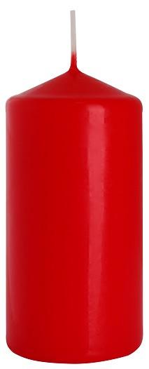 Свеча цилиндр красная Bispol 12 см (sw60/120-030)