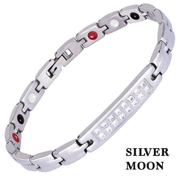 Магнитный браслет Silver Moon