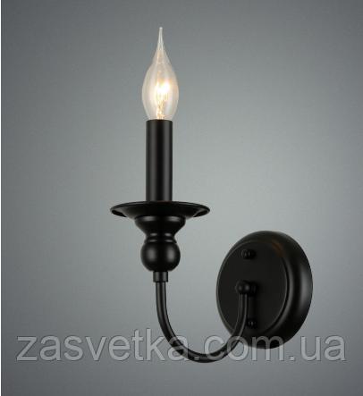 Бра свічка 773E011-1 BK