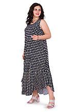 Женское летнее платье длинное 1232-50