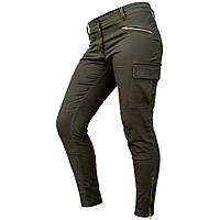 """Женские милитари джинсы """"FORSAGE"""" OLIVE Размеры 42,44,48"""