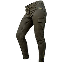 "Женские милитари джинсы ""FORSAGE"" OLIVE"