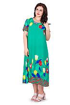Женское летнее платье 22011-2