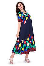 Женское летнее платье 22011-3