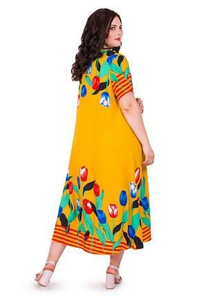 Женское летнее платье 22011-4, фото 2