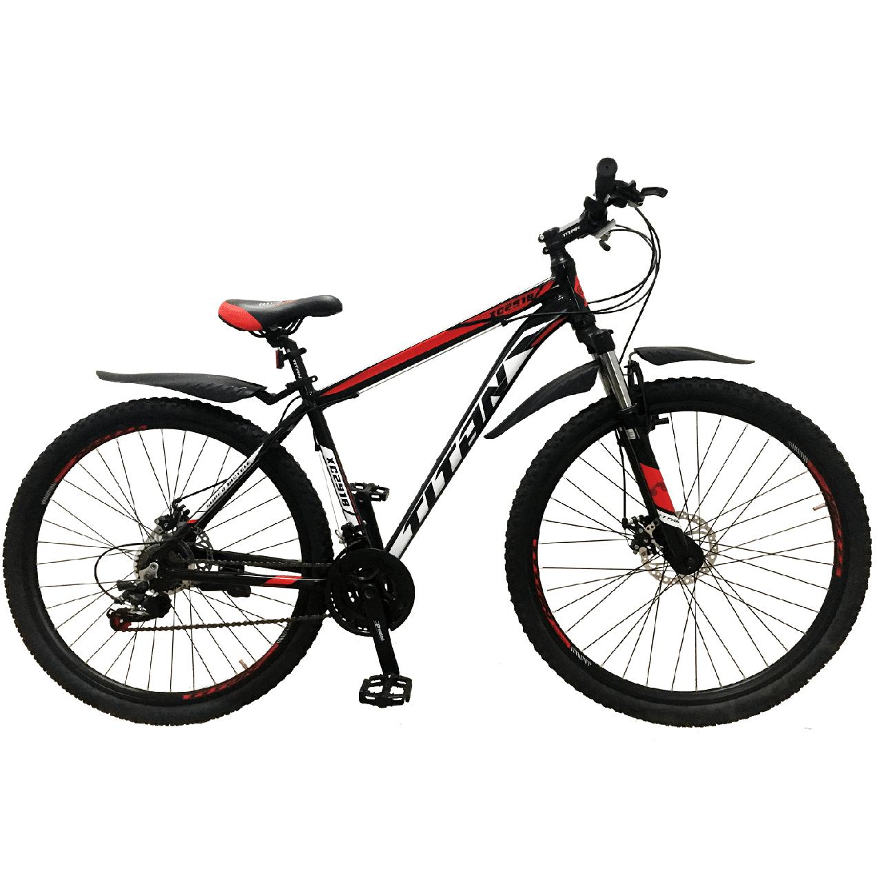 """Горный алюминиевый велосипед 29""""TITAN XC2919 (Shimano, моноблок, Lockout)"""