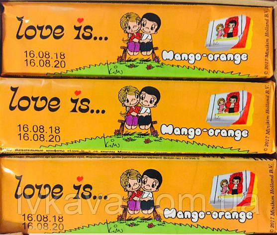 Жевательные конфеты Love is манго-апельсин , 25 гр х 12 шт, фото 2