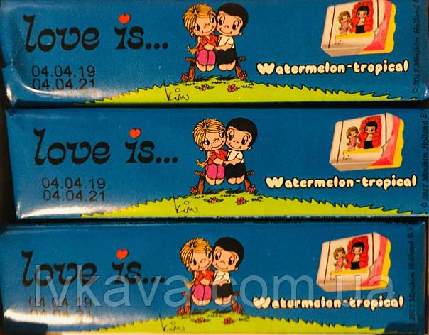 Жевательные конфеты Love is арбуз-тропик , 25 гр х 12 шт, фото 2